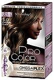 Schwarzkopf Pro Color - Coloration Permanente Anti-Casse - Châtain Clair 5.0