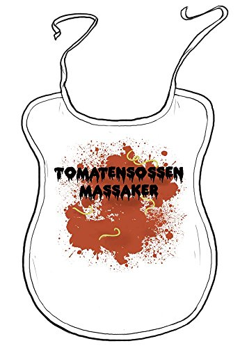 "die stadtmeister Erwachsenen-Latz ""Tomatensoßenmassaker"""