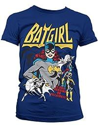 Officiellement Marchandises Sous Licence Batgirl - Hero Or Villain Femme Tee