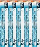 5 Stück Osram 64701ECO HALOLINE 230W 230V R7s FS1 Gesamtlänge 114,2mm Halogen-HV-Lampe/-Halogenstab
