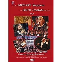 Mozart/Bach:Requiem/Cantate [DVD]