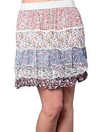 Miss Coquines - Jupe liberty plusieurs motif - Femme - Jupes