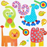 Nursery Jungle Animal Childrens Bedroom Wall Stickers