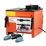 BuoQua 1600W 14A Piegatrice Ferro Professionale Diametro 25mm 0.25inch Curvatrice Per Ferro Elettrica Rebar Bender Heavy Duty Modello RB-25 (RB-25)