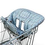 Amazy Einkaufswagenschutz mit Gurt undd extra weichem Beinschutz - Der praktische Sitzbezug für Einkaufswagen und Hochstuhl bietet Ihrem Baby optimalen Schutz und mehr Hygiene beim Einkaufen