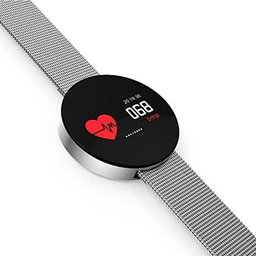XHL Art Intelligentes Uhr-Armband 0.96inch bunter TFT-Touch Screen trägt wasserdichtes Anti-verlorenes intelligentes Band für IOS Android zur Schau
