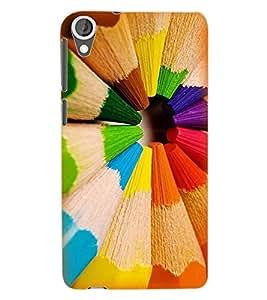 ColourCraft Color Back Case Cover for HTC DESIRE 820