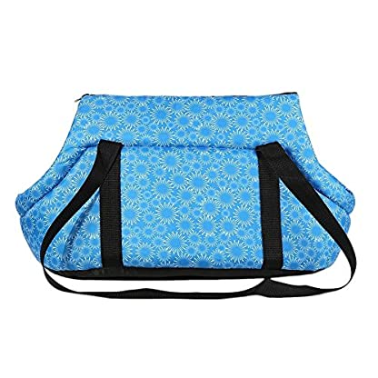 Pet Travel Carrier Tote Bag - SODIAL(R) Foldable and washable Small Dog Cat Pet Travel Carrier Tote Bag Purse Bag Soft… 3