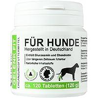 Vicupets Gelenk Fit für Hunde   enthält Glucosamin und Chondroitin   Made in Germany   120 Stück