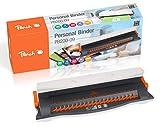 Peach  PB200-09 Plastikbindegerät Personal Binder A4 - inkl. 20-teiligem Starterset