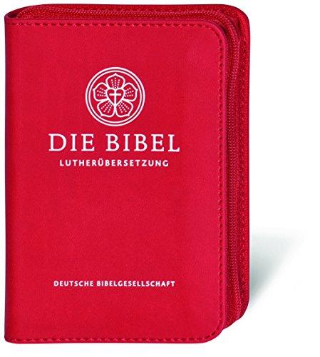 Lutherbibel - Senfkornausgabe mit Reißverschluss: Die Bibel nach Martin Luthers Übersetzung; mit Apokryphen