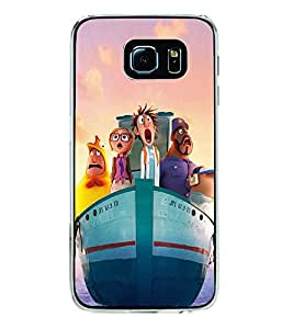 Ship with Cartoon Characters 2D Hard Polycarbonate Designer Back Case Cover for Samsung Galaxy S6 G920I :: Samsung Galaxy G9200 G9208 G9208/SS G9209 G920A G920F G920FD G920S G920T