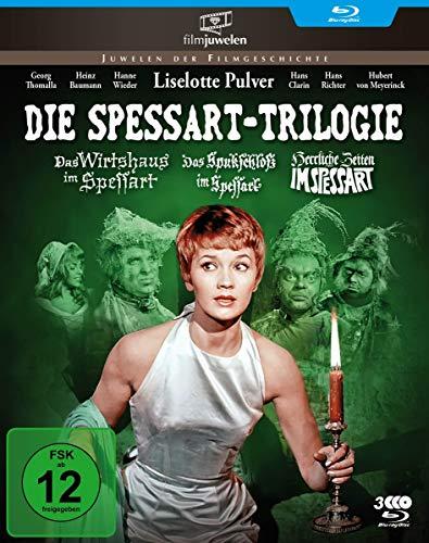 Die Spessart-Trilogie: Alle 3 Spessart-Komödien mit Lilo Pulver (Filmjuwelen) [Blu-ray] Preisvergleich