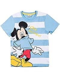 Disney Mickey Jungen T-Shirt - hellblau