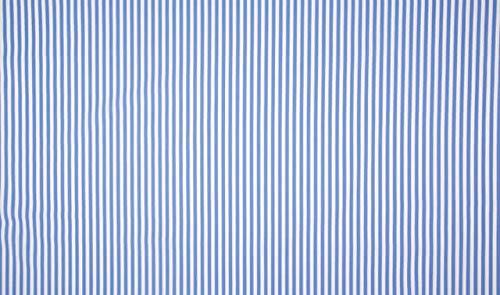 Qualitativ hochwertiger Baumwoll Stretch Stoff Streifen Blau/Weiß als Meterware zum Nähen von Baby, Kinder- und Damenkleidung, 50 cm - Stoff Gestreiften Blau Und Weiß