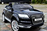Audi Q7 Kinder Elektro Auto Original Lizenz Audi - Beleuchtung - Vollgummi - Bluetooth - USB - SD...