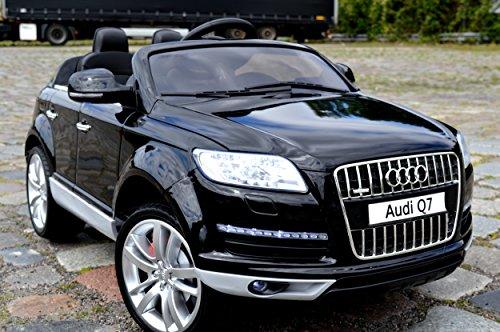 Preisvergleich Produktbild Audi Q7 Kinder Elektro Auto Original Lizenz Audi - Beleuchtung - Vollgummi - Bluetooth - USB - SD...
