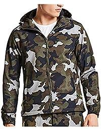 Taktische Softshell-Jacke   Bequeme Outdoor-Kapuzenjacke für Herren    Tactical Military Jacket im 712fcc62d5