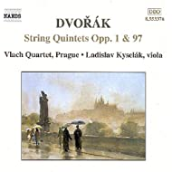Dvorak: String Quintets Opp. 1 And 97