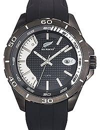 amazon co uk all blacks watches all blacks 680286 men s watch analogue quartz black dial black silicone
