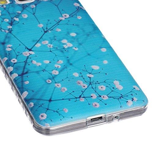 Hülle für iPhone 5s TPU Muster,TOCASO Ultra Slim Bunte Schutzhülle Silikon Gel Skin Transparent Bumper Rand Case Durchsichtig Rückschale Clear Cover Pattern Fall Handyhülle Weiche Ränder Etui Schale B Crystal Cover,#31