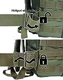 EXTREM Großer Rucksack 50 Liter Backpack Outdoor Robuster Multifunktions Military Rucksack für Backpacker | Camel (4076) - 4