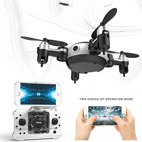 TONGTONG TONGTONG TONGTONG Drone RC avec caméra HD 720P WiFi, FPV 2,4 GHz Quadcopter Drone RTF Altitude Hold pour iPhone et Android | Bonne Conception Qualité  a14260