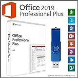 Office Professional Plus 2019 32/64 Bit - auf ein 16GB USB-Stick inkl. Lizenzschlüssel