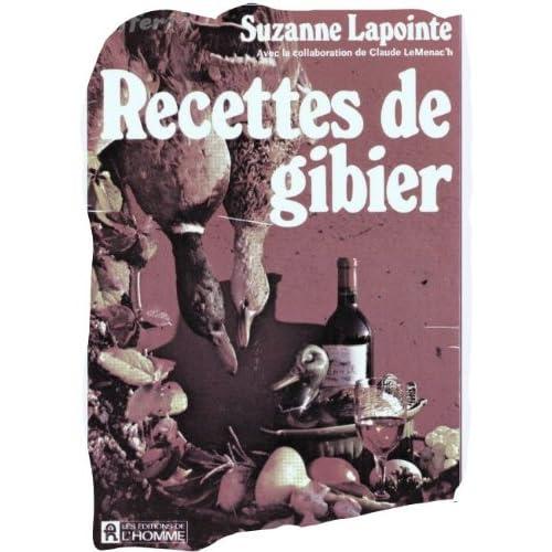 RECETTES DE GIBIER