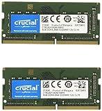 Crucial 16GB Arbeitsspeicher als Kit (2 x 8GB-Speicherriegel), DDR4 2666 MT/s, PC4-21300, SO-DIMM 260-Pin - CT2K8G4SFS8266