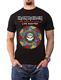 Iron Maiden T Shirt Book Of Souls Live Chapter 2017 Official Mens Black