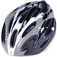 EP-Helmet Casco De La Bici De Montaña, Casco De Una Sola Pieza De Imitación,Gray