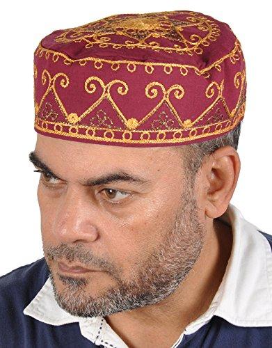 Outfit Arabischen Scheich (Traditionelle Arabische Kopfbedeckung - Araber - Karnevalskostüm/ Farbe:)