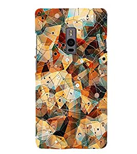 GADGET LOOKS PRINTED BACK COVER FOR ONEPLUS 2 MULTICOLOR