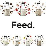 Feed. - Bouteille Legumes du jardin - Repas complet, pratique à emporter partout - 100% Vegan - Sans Gluten - Sans lactose - Sans OGM - 150g