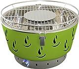 Grill Holzkohlegrill Heissluft rauchfrei Aktivbelüftung Activa Airbroil grün