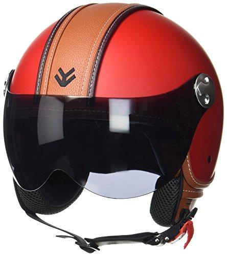 arrow-helmets-av-84-vintage-deluxe-red-helmet-biker-jet-helm-vespa-helm-scooter-helm-mofa-roller-hel