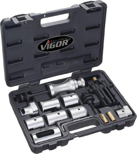 Vigor V2523 - Set estrattori braccio tergicristallo, 14 pz