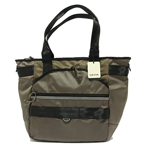 unisex borsa 0402R Verde unisex handbag tracolla GEOX verdenero CHfwf