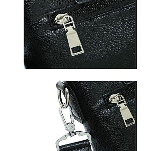 Multipurpose-Qualität Klassische Wilder Gentleman Dateipaket Laptop Rucksäcke Handcarry Bag Black