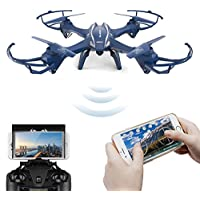 U818S WIFI Grande Giroscopio de 6 Ejes RC Quadcopter Drone con 720P Cámara FPV sin Headless Modo por Time4Deals