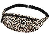 Leopard Leo Animal Print Gürteltasche Bauchtasche Tasche