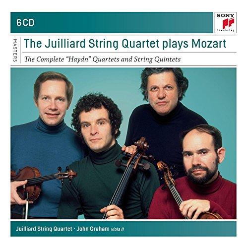 The Juilliard Quartet Plays Mozart  - the Complete
