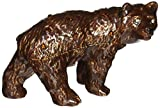 "Objet d'art Release No.248 ""Kodiak"" Grizzly Bear Handmade Jeweled Metal Trinket Box"