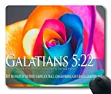 Yanteng Inc tappetino per mouse Carino tappetini per mouse Vintage Bible Verse Citazioni su Scrittura Psalms Proverbi Art Mat Gaming mouse pad tappetino per mouse PM1762