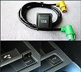 Eximtrade USB 3.5mm AUX Schalter Steckdose RNS315 RCD510 RCD310 RCD300 für Volkswagen VW MK6 Golf 6 Scirocco Jetta