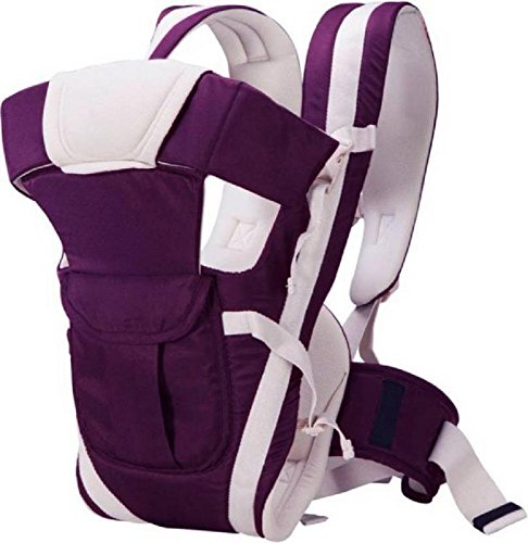 Ineffable Baby Carrier Shoulder Belt Sling Backpack Baby Holding Strap Adjustable Carry Bag Baby Carrier  (Purple, Front Carry Facing Out)