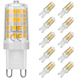 LE 10er G9 LED Birne ersetzt 50W Halogenlampen 340lm 5W warmweiß 3000K LED Lampe LED Leuchtmittel