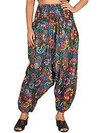 515c2561de0 FusFus™ Women s Printed Harem Pant Afghani Pant Palazzo Pyjama Jump Suit