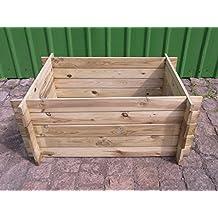 Holzkomposter Komposter neu braun KDI impr/ägniert